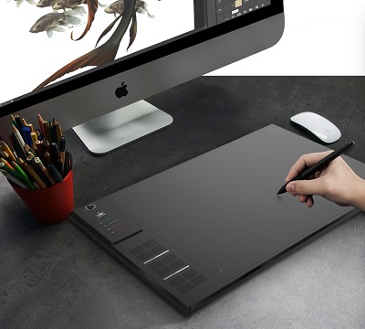 Huion-GIANO-WH1409-14-inch-8192-Levels-Wireless-Digital-Tablets-Graphic-Tablets-Wire-Pen-Tablet-Animation-5